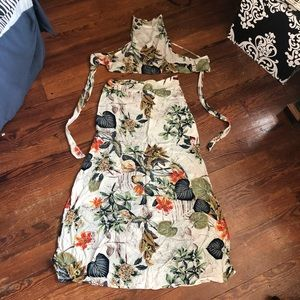 Skirts - 2 piece tropical dress set